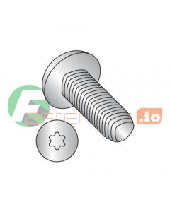 """10-24 x 3/4"""" Full Trilobe Thread Forming Screws / Six-Lobe (Torx) / Pan Head / 18-8 Stainless Steel (Quantity: 3,500 pcs)"""