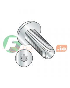 """10-24 x 1"""" Full Trilobe Thread Forming Screws / Six-Lobe (Torx) / Pan Head / Steel / Zinc (Quantity: 5,000 pcs)"""