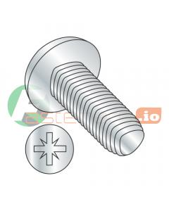 """4-40 x 3/8"""" Full Trilobe Thread Forming Screws / Pozi Drive / Pan Head / Steel / Zinc (Quantity: 10,000 pcs)"""