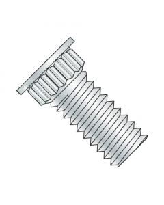 4-40 x 3/8 Broaching-Type Clinch Studs / Phosphor Bronze / Electro-Tin (Quantity: 5,000 pcs)