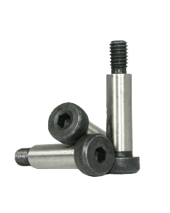 Socket Head Shoulder Screw, M24 x 80mm, Alloy Steel, Black Oxide, Hex Socket Drive (Quantity: 5)