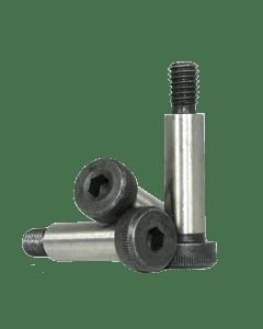 Socket Head Shoulder Screw, M24 x 90mm, Alloy Steel, Black Oxide, Hex Socket Drive (Quantity: 5)