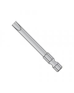 "8-10 X 1 15/16 Slotted Power Bits / Point Size: #8 - #10 / Length 1 15/16"" / Shank: 1/4"" (Quantity: 60 pcs)"