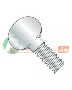 """6-32 X 1/2"""" Thumb Screws / Type P / No Shoulder / Steel / Zinc (Quantity: 3,000 pcs)"""