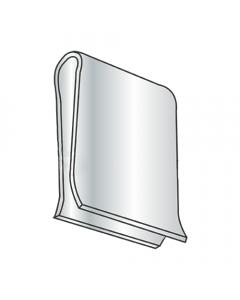 C22503-014-3B Tinnerman Style U-Type Speed Clips / No Hole / Steel / Zinc (Quantity: 2,000 pcs)