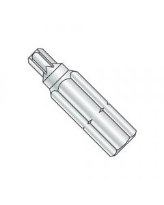 "T-20 X 1 X 1/4 Torx(R) Insert Bits / Driver Size: T-20 / Length 1"" / Shank: 1/4"" (Quantity: 60 pcs)"