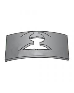 (#6) C7000-6-4 Tinnerman Style Flat-Type Spring Nuts / Steel / Black Phosphate (Quantity: 5,000 pcs)