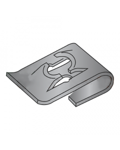 (6-32) C8020-632-4 Tinnerman Style J-Type Spring Nuts / Steel / Black Phosphate (Quantity: 3,000 pcs)