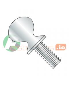 """6-32 X 1/4"""" Thumb Screws / Type P / Shoulder / Steel / Zinc (Quantity: 3,000 pcs)"""