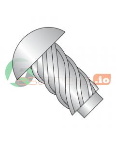 "#00 x 1/8"" U Drive Self-Tapping Screws / Round Head / 18-8 Stainless Steel (Quantity: 10,000 pcs)"