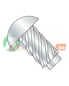 """#3 x 3/16"""" U Drive Self-Tapping Screws / Round Head / Steel / Zinc (Quantity: 10,000 pcs)"""