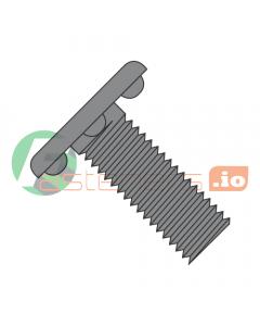 """6-32 x 1/2"""" Weld Screws / Nibs Under Head / Steel / Plain (Quantity: 5,000 pcs)"""