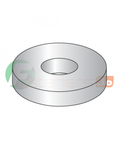 """1/4"""" x 11/16"""" Flat Washers / 316 Stainless Steel / Outer Diameter: 11/16"""" / Thickness Range : .045"""" - .055"""" (Quantity: 5,000 pcs)"""