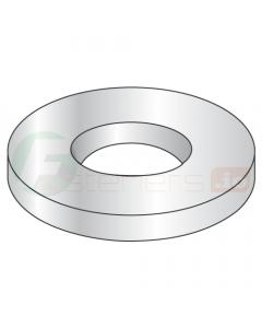 "#3 Flat Washers / Type B Narrow Series / Steel / Zinc / Outer Diameter: .214"" - .219"" / Thickness Range : .022"" - .028"" (Quantity: 10,000 pcs)"