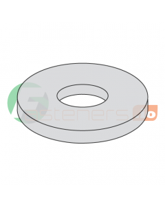 """1/2"""" x 2 1/2"""" Fender Washers / Steel / Hot Dip Galvanized / Outer Diameter: 2 1/2"""" / Thickness Range : .051"""" - .080"""" (Quantity: 20 Lbs, about 266 pcs)"""