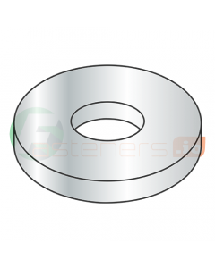 """1/4"""" x 1 1/8"""" Extra Thick Fender Washers / Steel / Zinc / Outer Diameter: 1 1/8"""" / Thickness Range : .108"""" - .132"""" (Quantity: 50 Lbs, about 1,500 pcs)"""