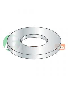 "#5 Machine Screw Flat Washers / Steel / Zinc / Outer Diameter: .276"" - .286"" / Thickness Range : .022"" - .030"" (Quantity: 10,000 pcs)"