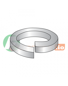 """#2 Medium Split Lock Washers / 316 Stainless Steel / Outer Diameter: .172"""" / Thickness: .020"""" (Quantity: 1,000 pcs)"""