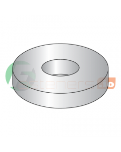 """#6 SAE Flat Washers / 18-8 Stainless Steel / Outer Diameter: 3/8"""" / Thickness Range : .036"""" - .065"""" (Quantity: 5,000 pcs)"""