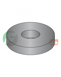 """1/4"""" SAE Flat Washers / Steel / Black Zinc / Outer Diameter: 5/8"""" / Thickness Range : .051"""" - .080"""" (Quantity: 50 Lbs, about 11,100 pcs)"""