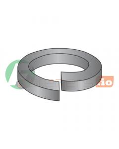 "#2 Medium Split Lock Washers / Steel / Black Oxide / Outer Diameter: .172"" / Thickness: .020"" (Quantity: 30,000 pcs)"