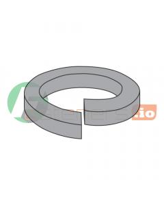 "1 1/2"" High Collar Split Lock Washers / Steel / Plain / Outer Diameter: 2.419"" / Thickness: .375"" (Quantity: 225 pcs)"