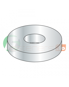 """1 1/8"""" USS Flat Washers / Steel / Zinc / Outer Diameter: 2 3/4"""" / Thickness Range : .136"""" - .192"""" (Quantity: 50 Lbs, about 225 pcs)"""