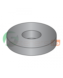 """1/4"""" USS Flat Washers / Steel / Black Oxide / Outer Diameter: 3/4"""" / Thickness Range : .051"""" - .080"""" (Quantity: 50 Lbs, about 7,450 pcs)"""