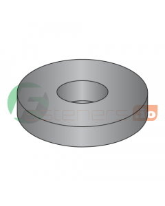 """1/4"""" USS Flat Washers / Steel / Black Zinc / Outer Diameter: 3/4"""" / Thickness Range : .051"""" - .080"""" (Quantity: 50 Lbs, about 7,450 pcs)"""