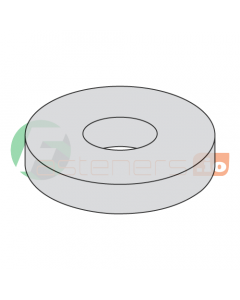 """1/4"""" USS Flat Washers / Steel / Hot Dip Galvanized / Outer Diameter: 3/4"""" / Thickness Range : .051"""" - .080"""" (Quantity: 20 Lbs, about 2,980 pcs)"""