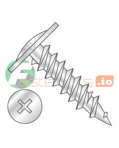 """#8 x 9/16"""" Fine Drywall Screws / Phillips / Modified Truss Head / Steel / Zinc (Quantity: 5,000 pcs)"""