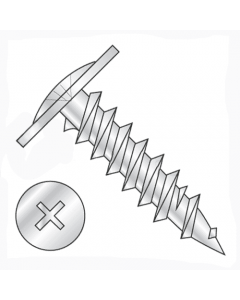 """#8-15 x 3/4"""" Twinfast Thread Drywall Screws / Phillips / Modified Truss / Steel / Zinc Plating (Quantity: 8000 pcs)"""