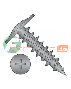"#8 x 9/16"" Fine Drywall Screws / Phillips / Modified Truss Head / Steel / Black Oxide (Quantity: 5,000 pcs)"