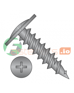 "#8 x 3/4"" Fine Drywall Screws / Phillips / Modified Truss Head / Steel / Black Oxide (Quantity: 5,000 pcs)"
