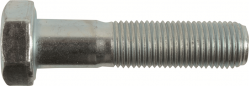 M7-1.0 x 35mm Hex Cap Screws, Metric Class 8.8 Zinc Plated Steel (Quantity: 1)