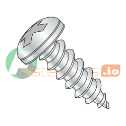 "#6-20 x 2"" Type AB Self-Tapping Screws / Phillips / Pan Head / Steel / Zinc Plating (Quantity: 3500 pcs)"