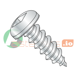 "#8-18 x 5/8"" Type AB Self-Tapping Screws / Square / Pan Head / Steel / Zinc Plating (Quantity: 5500 pcs)"