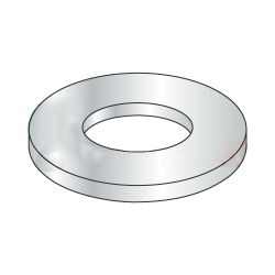 M3.5 Flat Washers / Steel / Zinc / DIN125A / Outer Diameter: 7.64 - 8 mm / Thickness Range : .45 - .55 mm (Quantity: 10,000 pcs)