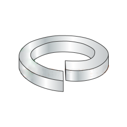 M10 Split Lock Washers / Steel / Zinc / DIN127B / Outer Diameter: 18.1 mm / Thickness: 2.2 mm (Quantity: 3,000 pcs)