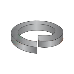 M10 Split Lock Washers / Steel / Black Oxide / DIN127B / Outer Diameter: 18.1 mm / Thickness: 2.2 mm (Quantity: 3,000 pcs)