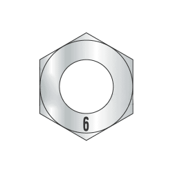 M3-0.50 Finished Hex Nuts / Metric Class 6 Steel / Zinc Plated DIN 934 (Quantity: 75000)