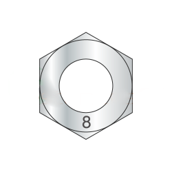 M24-3.0 Finished Hex Nuts / A4 Stainless Steel / DIN 934 (Quantity: 100)