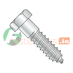 "3/4"" x 8"" Lag Screws / Steel / Zinc (Quantity: 20 pcs)"