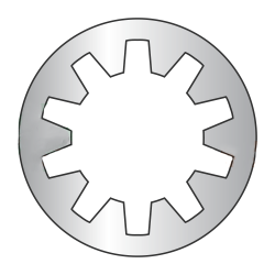 M2 Internal Tooth Lock Washers / 18-8 Stainless Steel / DIN6797J (Quantity: 10,000 pcs)