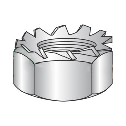 M3-0.5 Hex Keps Nuts / 18-8 Stainles Steel (A2) (Quantity: 3,000 pcs)