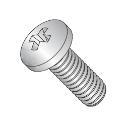"MS51958-7 / 2-64 x 1/2"" Mil-Spec Machine Screws / Phillips / Pan / 18-8 Stainless Steel / DFAR Compliant (Quantity: 4,000 pcs)"
