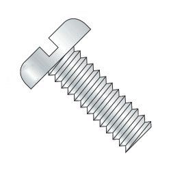 M5-0.80 x 6mm Machine Screws / Slotted / Pan Head / Steel / Plain Finish (Quantity: 4000 pcs)