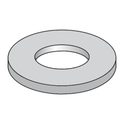 "NAS620-C416 / 1/4"" Mil-Spec Flat Washers / 300 Series Stainless Steel / DFAR Compliant (Quantity: 5,000 pcs)"