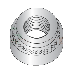 """3/8-16-2 Self Clinching Nuts / 303 Stainless Steel / Shank Height: .235"""" / Sheet Thickness: .250"""" (Quantity: 1,000 pcs)"""