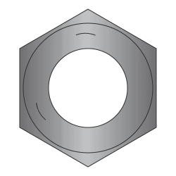 """1/4""""-20 Finished Hex Nuts / Grade 5 Steel / Plain (Quantity: 100)"""